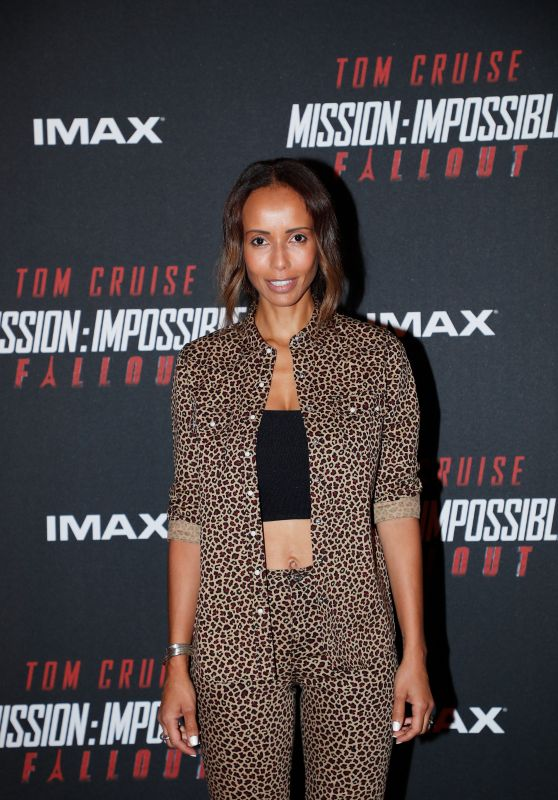 "Sonia Rolland – ""Mission Impossible – Fallout"" Premiere in Paris"