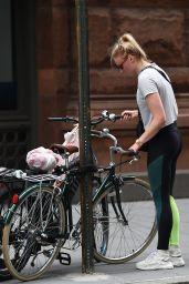 Sophie Turner and Joe Jonas Biking in Manhattan, NY