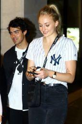 Sophie Turner and Joe Jonas in Little Italy in NYC 07/25/2018
