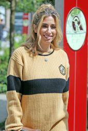 Stacey Solomon at ITV Studios in London 07/19/2018