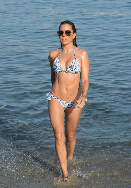 Sylvie Meis in Bikini in Mykonos 07/06/2018