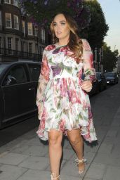 Tamara Ecclestone at C of London on Davies Street in Mayfair 07/07/2018