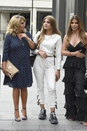 Tanya Bardsley, Christine McGuinness and Ester Dee in Manchester