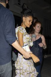 Thandie Newton Night Out in London 07/15/2018