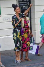 Thandie Newton - Wimbledon Tennis Championships 07/14/2018