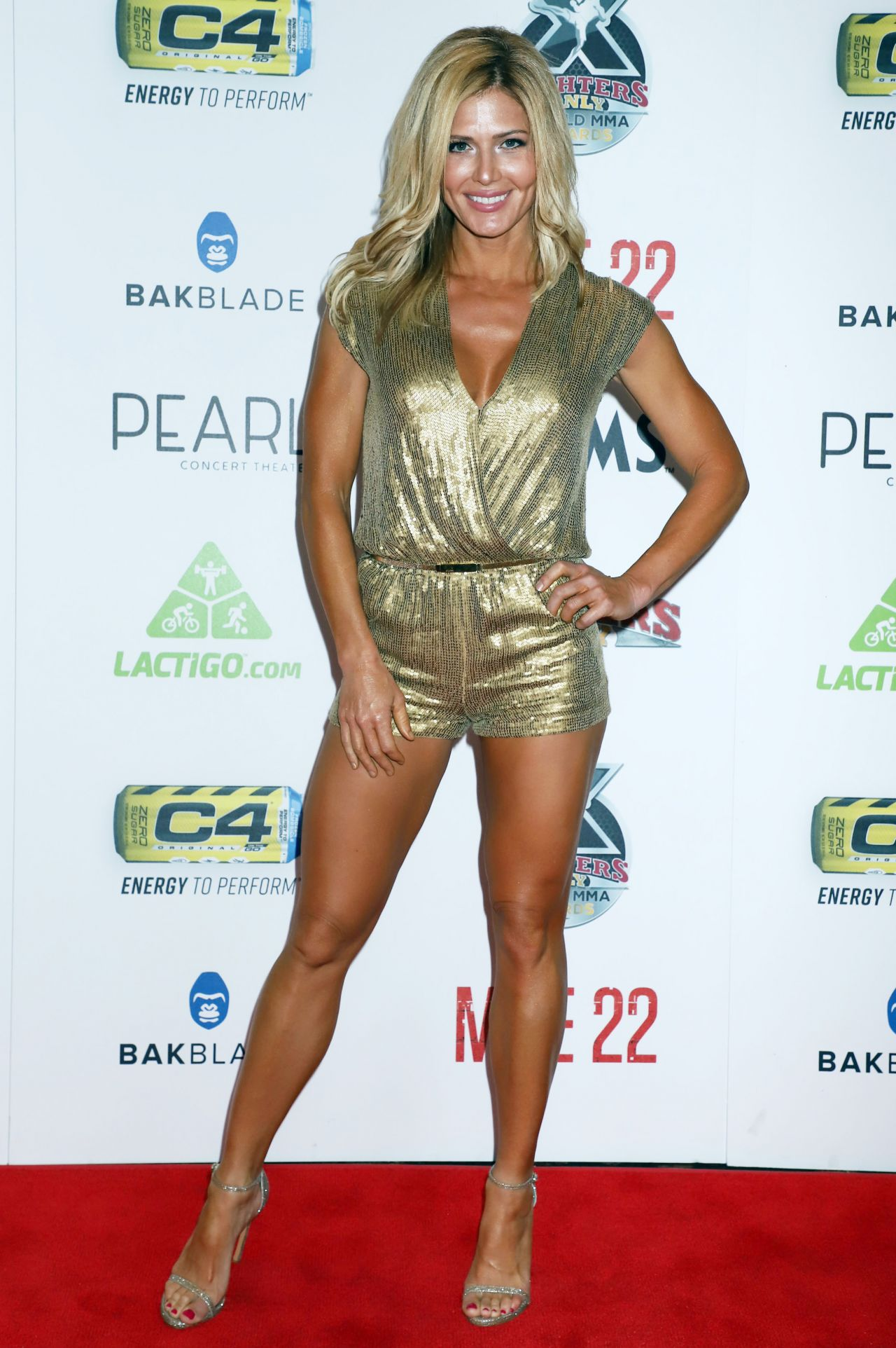 Torrie Wilson World Mma Awards In Las Vegas