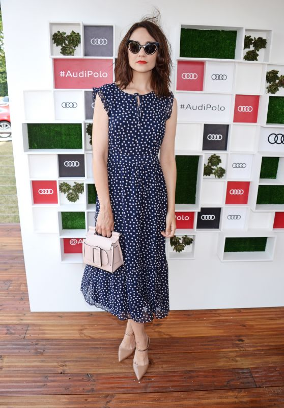 Tuppence Middleton – Audi Polo Challenge in Ascot 07/01/2018