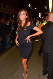 Tyla Carr - Leaving the Love Island Viewing Party in London