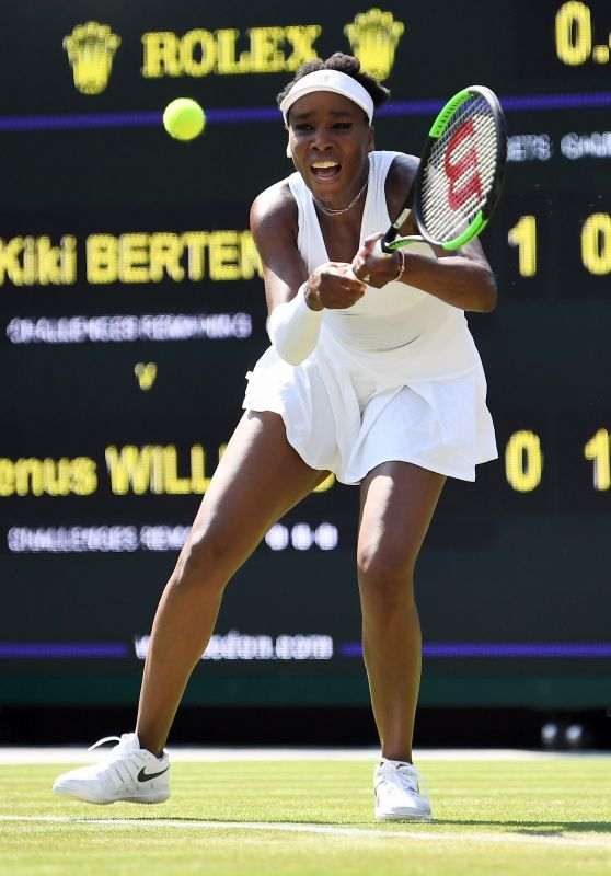 Venus Williams – Wimbledon Tennis Championships 07/06/2018