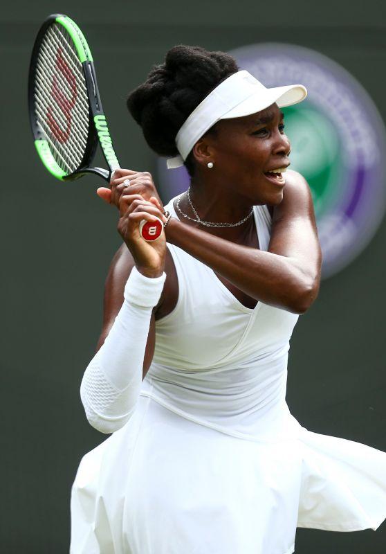 Venus Williams – Wimbledon Tennis Championships in London 07/04/2018
