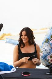Vicky Pattison - Poses Poolside For Her New Calendar in Cyprus 07/14/2018