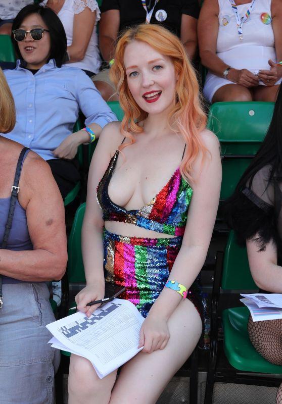 Victoria Clay at Pride London Festival 07/07/2018