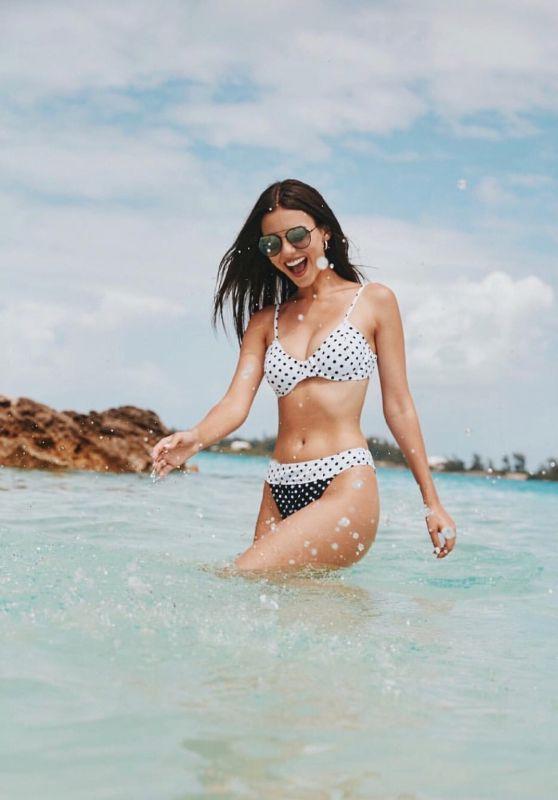 Victoria Justice in Bikini - Social Media 07/21/2018