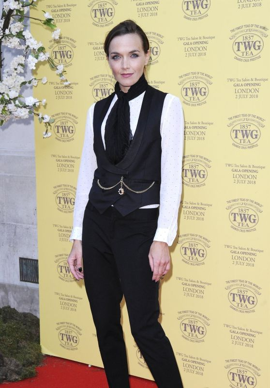 Victoria Pendleton – TWG Tea Salon and Boutique Launch Party in London