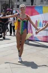 Wallis Day and Alice Chater at Pride London Festival in London 07/07/2018