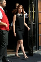 Zoey Deutch Style and Fashion - Outside the Bowery Hotel in NYC 07/16/2018