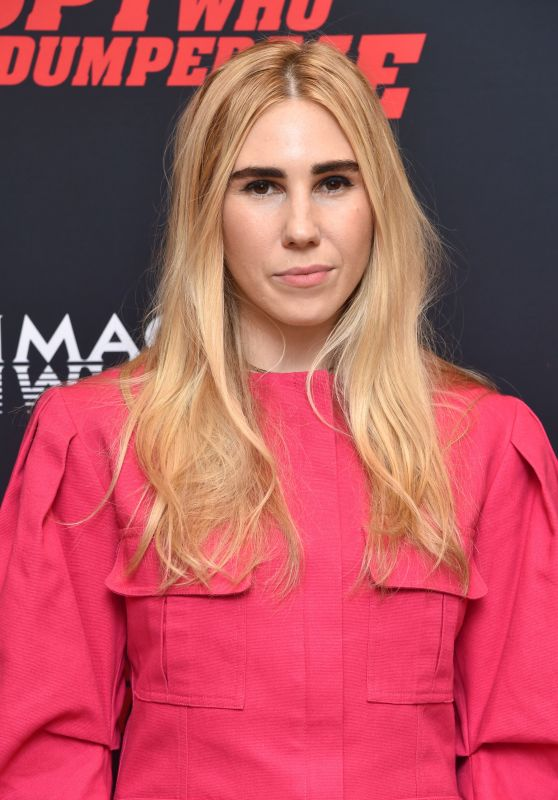 "Zosia Mamet – ""The Spy Who Dumped Me"" Screening in New York"