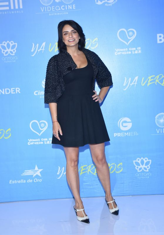 "Aislinn Derbez – ""Ya Veremos"" Premiere in Mexico City"