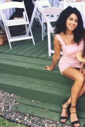 Alanna Masterson - Social Media 08/06/2018