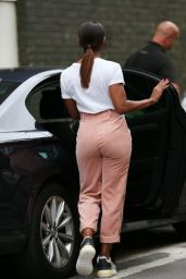 Alexandra Burke in Tight Short Trousers - London 08/19/2018