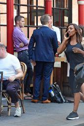 Alexandra Burke - Leaving a Gym in Soho 08/07/2018