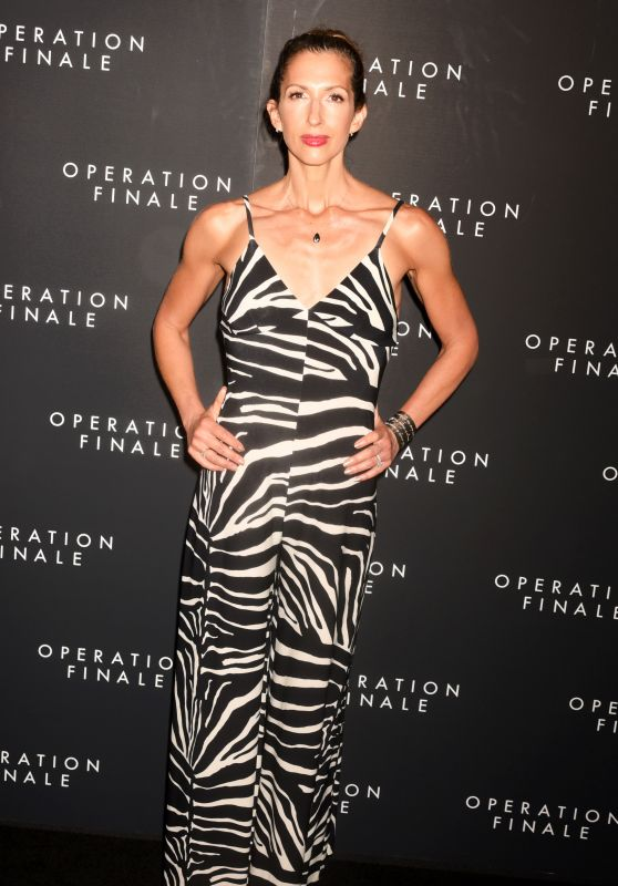 "Alysia Reiner – ""Operation Finale"" Premiere in NYC"