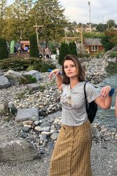 Alyson Aly Michalka Personal Pics, August 2018