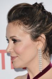 "Alyssa Milano - ""Insatiable"" Season 1 Premiere in Hollywood"