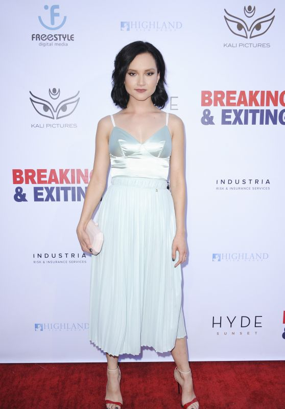 "Amanda Grace Benitez – ""Breaking and Exiting"" Premiere in LA"