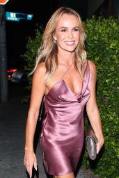 "Amanda Holden - Simon Cowell Hollywood Star Celebration Party at Italian restaurant ""Ago"" in Los Angeles 08/22/2018"