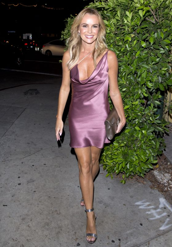 "Amanda Holden - Simon Cowell Hollywood Star Celebration Party at Italian restaurant ""Ago"" in Los Angeles 08/22/2018"