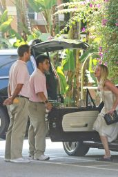 Amber Heard at Beverly Hills Hotel in LA 08/16/2018