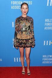 Amber Heard – Hollywood Foreign Press Association Annual Grants Banquet in LA 08/09/2018