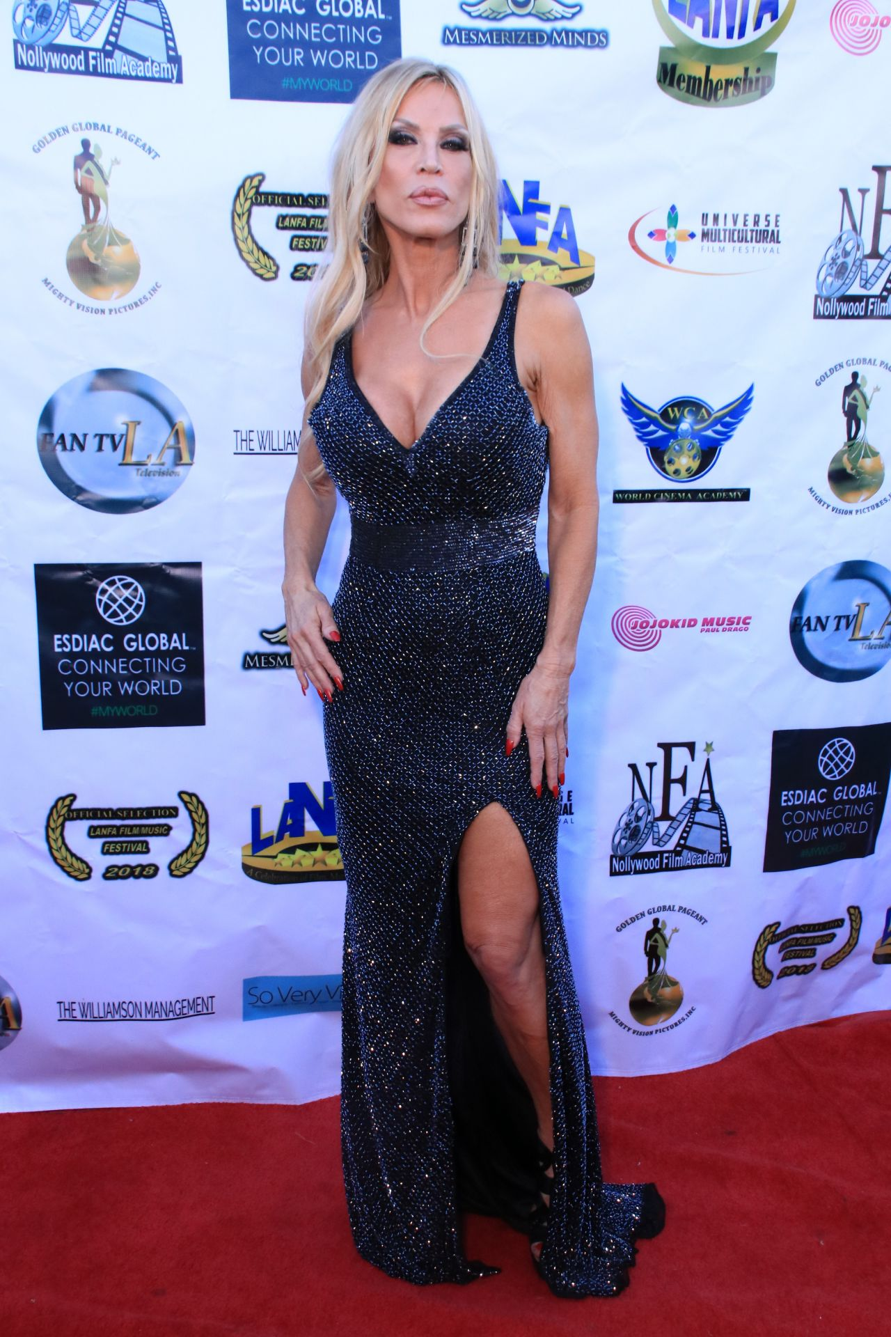 Amber Lynn – Los Angeles Nollywood Awards 08/07/2018