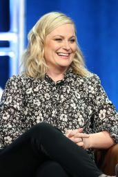 "Amy Poehler - ""I Feel Bad"" TV Show Panel at 2018 TCA Summer Press Tour in LA"