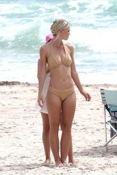 Andrea Cronberg - Bikini Photoshoot in Miami Beach 08/27/2018