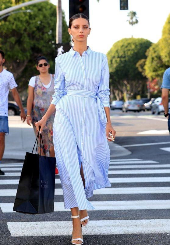 Angela Sarafyan Style - Beverly Hills 08/17/2018