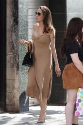 Angelina Jolie at Perch Restaurant in Los Angeles, 08/26/2018