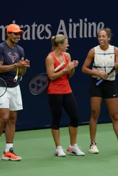 Angelique Kerber - Arthur Ashe Kids Day at the USTA in Flushing, Queens 08/25/2018