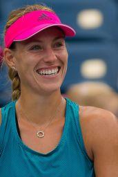Angelique Kerber – Practice at the 2018 US Open Grand Slam Tennis in New York 08/21/2018