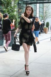 Anna Kendrick is Stylish - New York 08/18/2018