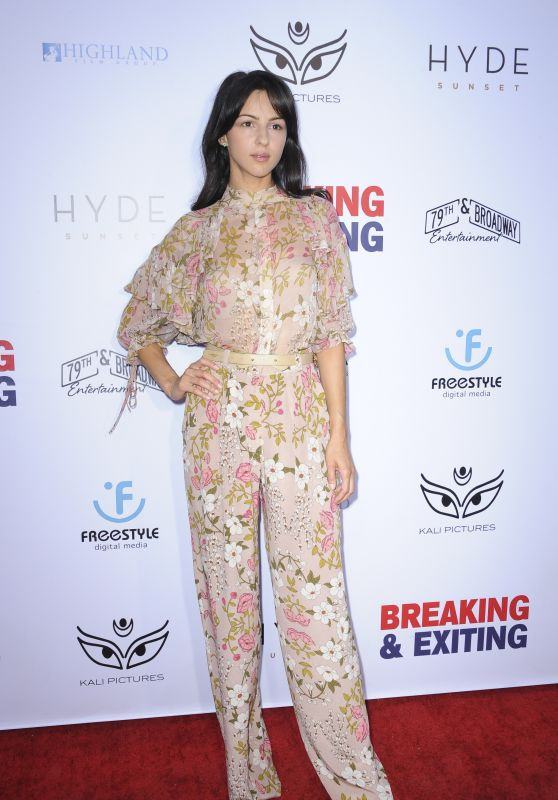 "Annet Mahendru – ""Breaking and Exiting"" Premiere in LA"
