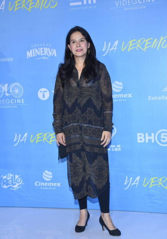 "Arcelia Ramirez – ""Ya Veremos"" Premiere in Mexico City"