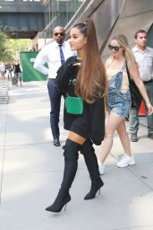 Ariana Grande - Heading to the Jimmy Fallon show in NYC 08/16/2018