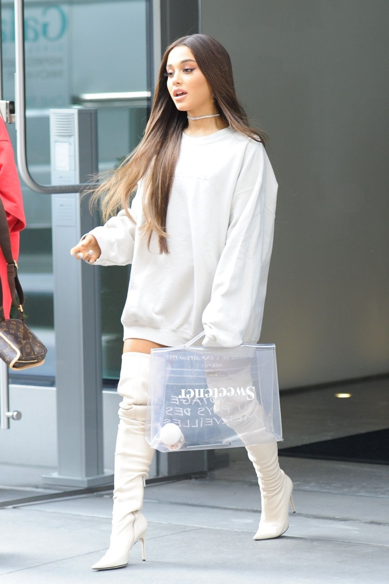 Ariana Grande - Out in NYC 08/17/2018 Gwen Stefani
