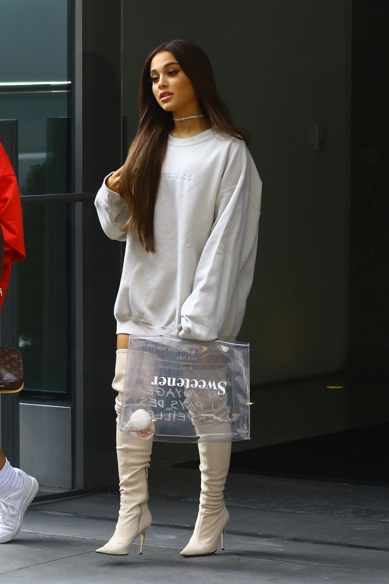 Ariana Grande Out In Nyc 08 17 2018