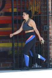 Ariel Winter - Leaving the Gym in Studio City 08/08/2018