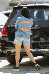 Ariel Winter Leggy in Shorts in West Hollywood 08/28/2018