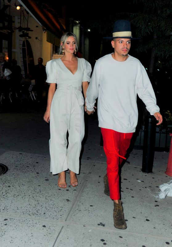 Ashlee Simpson and Even Ross Night Out in NYC 08/15/2018