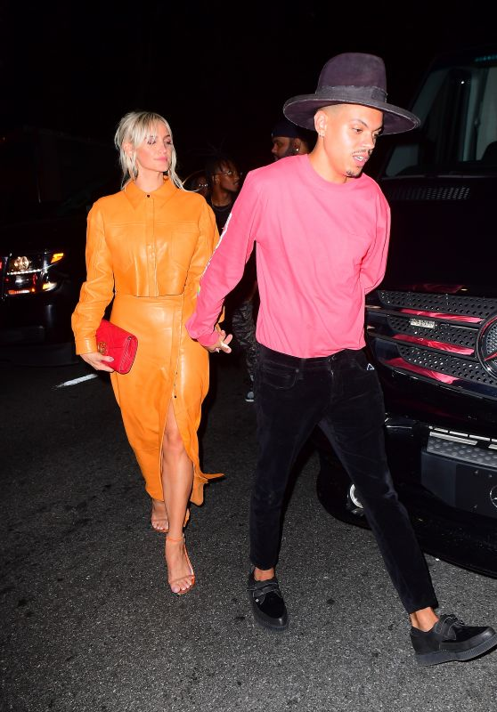 Ashlee Simpson at Marquee Nightclub in New York 08/19/2018